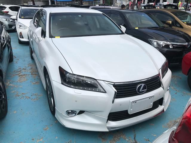 沖縄県の中古車ならGS GS450h