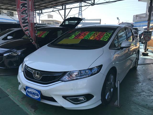 沖縄県の中古車ならジェイド ハイブリッドX Bluetooth