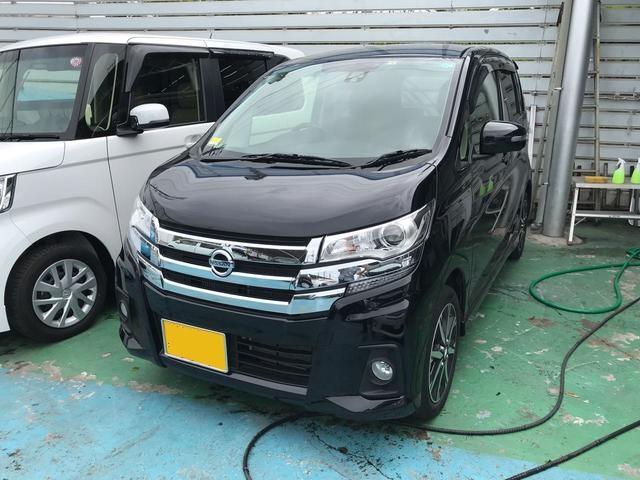 沖縄の中古車 日産 デイズ 車両価格 106万円 リ済込 2017(平成29)年 3.0万km ブラックP