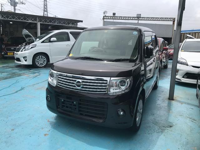 沖縄の中古車 日産 モコ 車両価格 64万円 リ済込 2014(平成26)年 7.2万km ブラウン