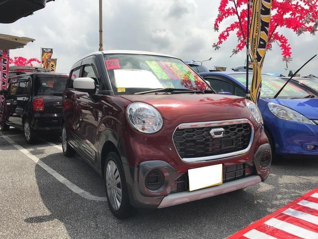 沖縄の中古車 ダイハツ キャスト 車両価格 95万円 リ済込 2016(平成28)年 3.4万km ツートン