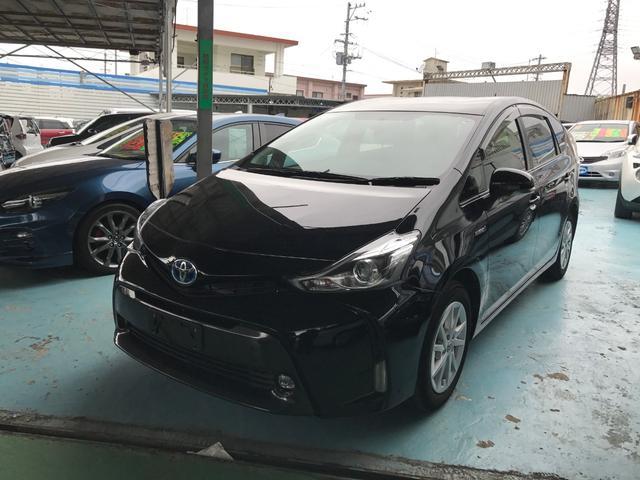 沖縄県の中古車ならプリウスアルファ S 純正ナビTV