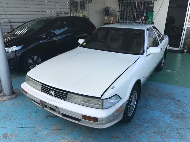 沖縄の中古車 トヨタ ソアラ 車両価格 89万円 リ済別 1991(平成3)年 17.4万km パール