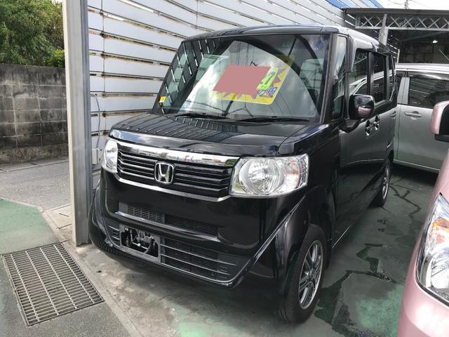 沖縄県の中古車ならN-BOX SSパッケージ ワンセグナビ