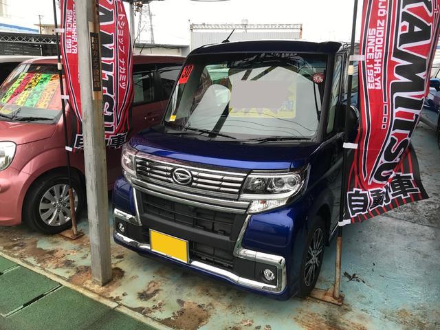 沖縄県の中古車ならタント カスタムX トップエディションSAIII 純正メモリーナビ