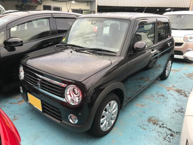 沖縄県の中古車ならアルトラパン Fリミテッド レーダーブレーキサポート