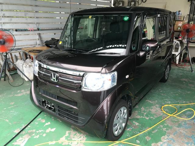 沖縄県の中古車ならN-BOX G ナビTV