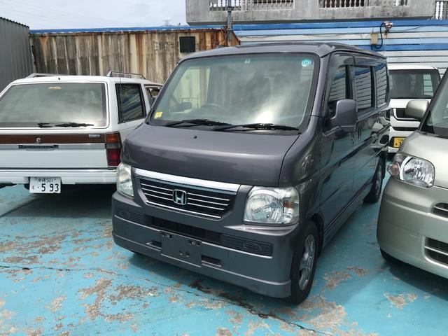 沖縄の中古車 ホンダ バモス 車両価格 64万円 リ済別 2013(平成25)年 9.7万km グレー