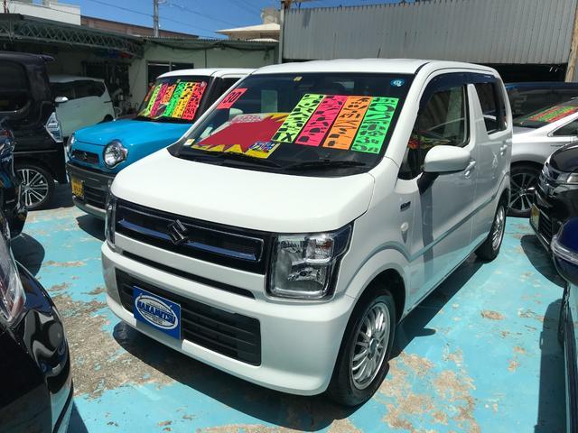 沖縄県の中古車ならワゴンR ハイブリッドFX レーダーブレーキサポート