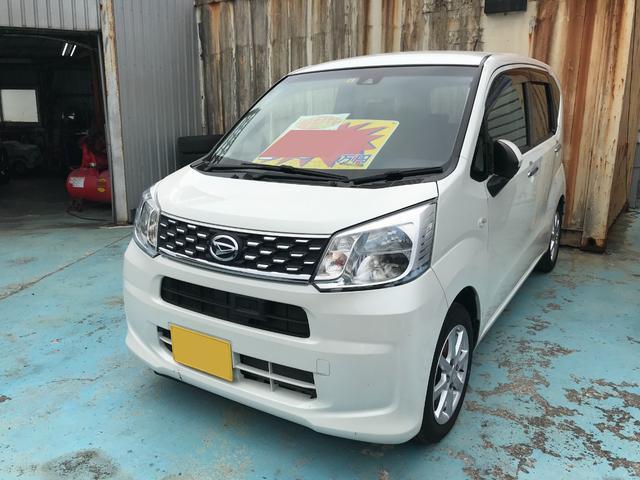 沖縄の中古車 ダイハツ ムーヴ 車両価格 74万円 リ済別 2015(平成27)年 4.4万km パールホワイト