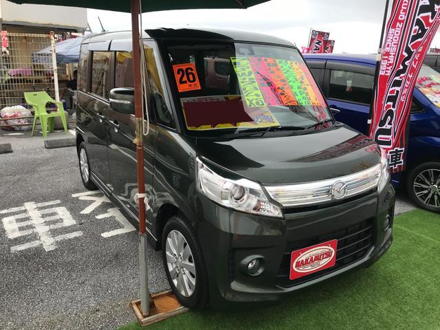沖縄県の中古車ならフレアワゴンカスタムスタイル XS 純正ナビTV ブルートゥース バックモニター