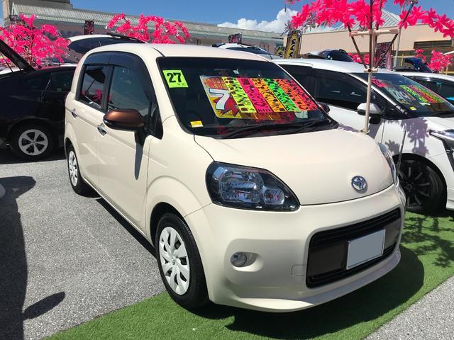 沖縄県の中古車ならポルテ F アラモード HID バックモニター