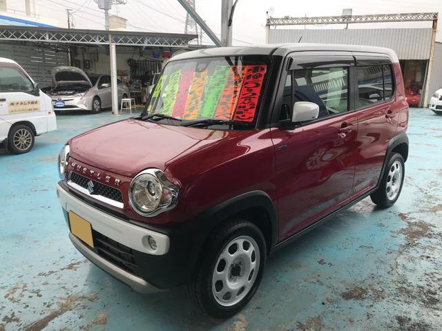 沖縄の中古車 スズキ ハスラー 車両価格 84万円 リ済別 2015(平成27)年 5.4万km レッドII