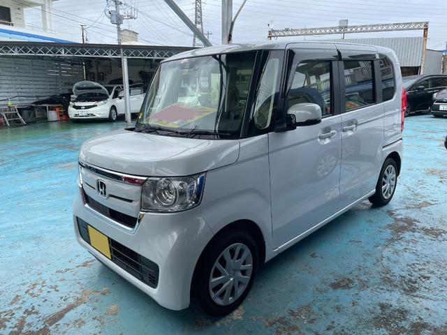 沖縄県の中古車ならN-BOX G・Lホンダセンシング 純正ナビTV バックモニター