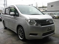 沖縄の中古車 ホンダ ステップワゴン 車両価格 75万円 リ済込 平成21年 10.4万K グレー
