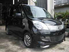 沖縄の中古車 スズキ ソリオ 車両価格 65万円 リ済込 平成23年 7.5万K ブラック