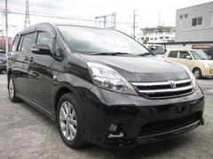 沖縄の中古車 トヨタ アイシス 車両価格 65万円 リ済込 平成21年 9.4万K ブラック