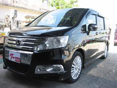 沖縄の中古車 ホンダ ステップワゴンスパーダ 車両価格 105万円 リ済込 平成23年 11.3万K ブラック