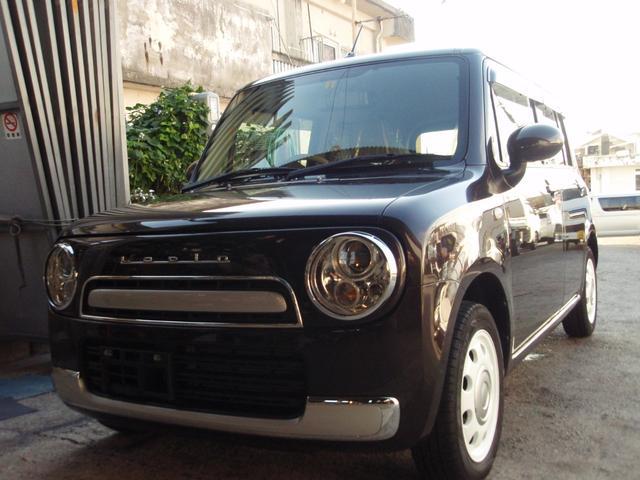 沖縄の中古車 スズキ アルトラパンショコラ 車両価格 85万円 リ済込 2015(平成27)年 3.1万km ブラウン