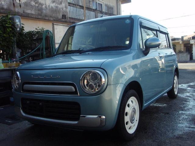 沖縄県の中古車ならアルトラパンショコラ X