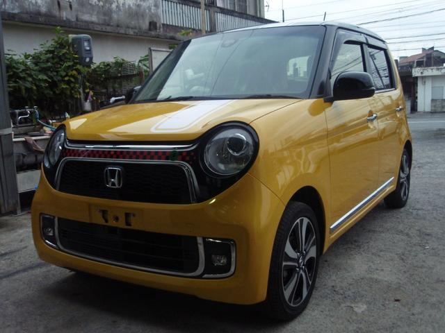 沖縄の中古車 ホンダ N-ONE 車両価格 85万円 リ済込 2015(平成27)年 8.6万km イエローII