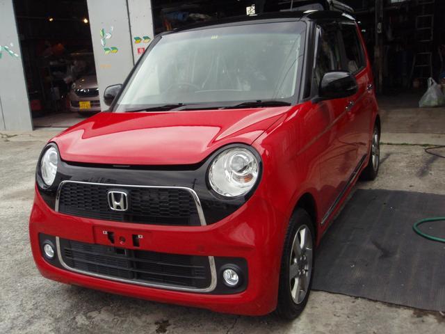 沖縄の中古車 ホンダ N-ONE 車両価格 75万円 リ済込 2013(平成25)年 4.8万km レッドII