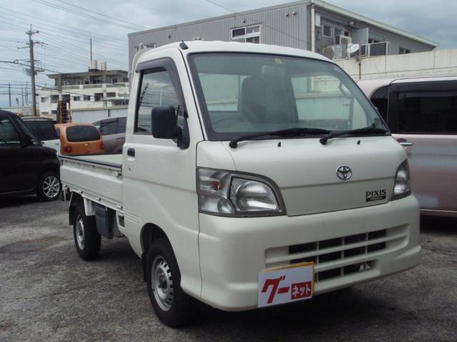 沖縄の中古車 トヨタ ピクシストラック 車両価格 55万円 リ済込 2013(平成25)年 11.3万km ホワイト