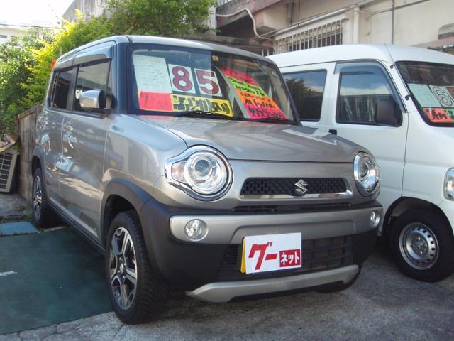 沖縄の中古車 スズキ ハスラー 車両価格 75万円 リ済込 2016(平成28)年 11.7万km グレーM