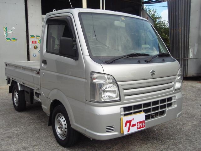 沖縄県の中古車ならキャリイトラック KCエアコン・パワステ オートマ