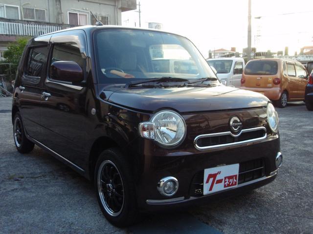 沖縄県の中古車ならミラココア ココアX SDナビ バックカメラ