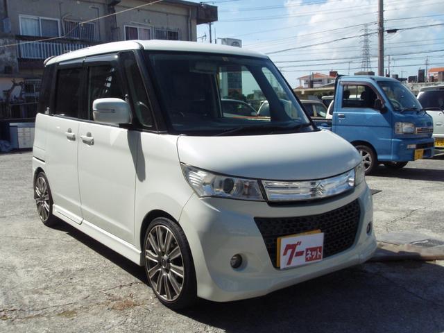 沖縄の中古車 スズキ パレットSW 車両価格 45万円 リ済込 2010(平成22)年 11.8万km パール