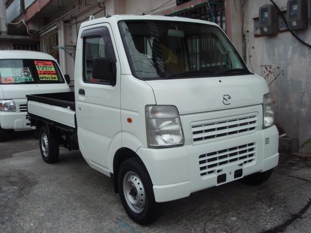 沖縄の中古車 マツダ スクラムトラック 車両価格 49万円 リ済込 2013(平成25)年 9.3万km ホワイト