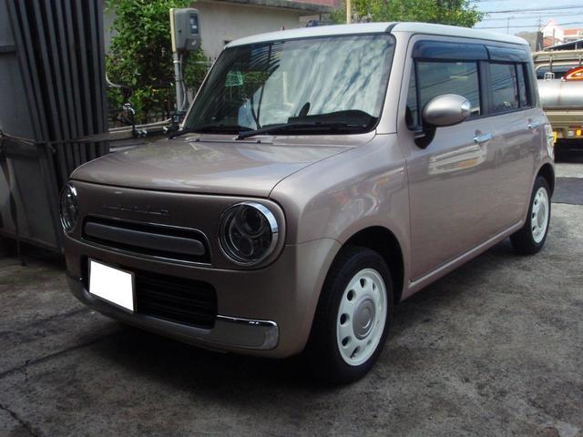 沖縄県沖縄市の中古車ならアルトラパンショコラ X アイドルストップ HID フルセグ  Bluetooth