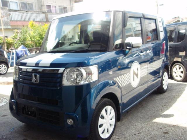 沖縄県沖縄市の中古車ならN-BOX+ G・Lパッケージ HID ETC