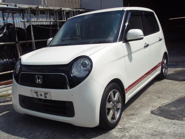 沖縄の中古車 ホンダ N-ONE 車両価格 55万円 リ済込 2013(平成25)年 11.1万km パール