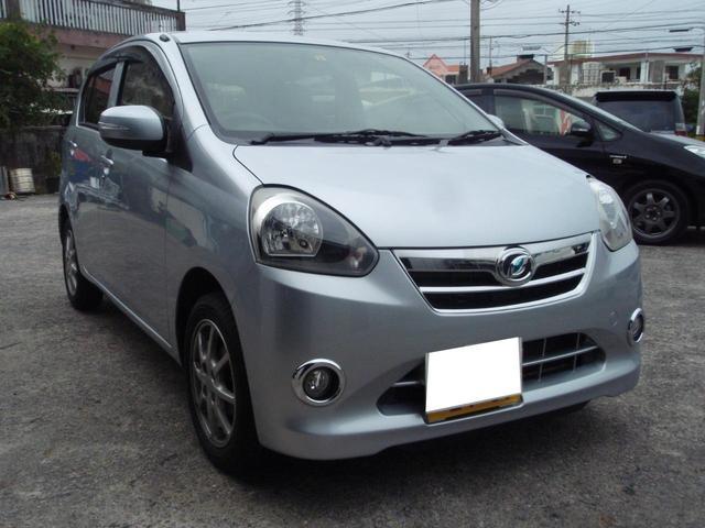 沖縄の中古車 ダイハツ ミライース 車両価格 35万円 リ済込 2012(平成24)年 5.3万km グレーM