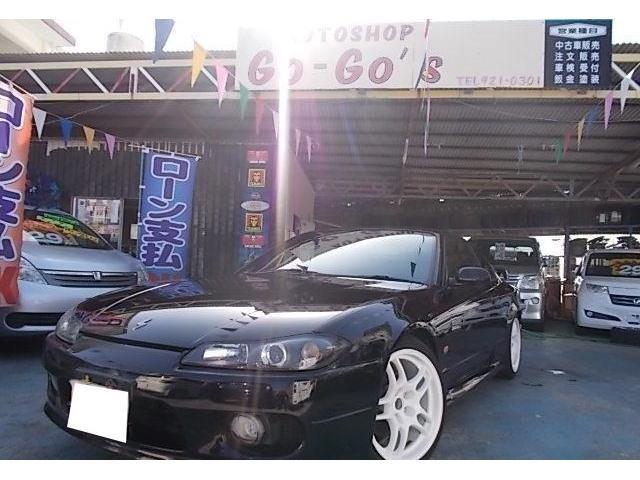 沖縄の中古車 日産 シルビア 車両価格 89万円 リ済別 平成12年 走不明 スーパーブラック