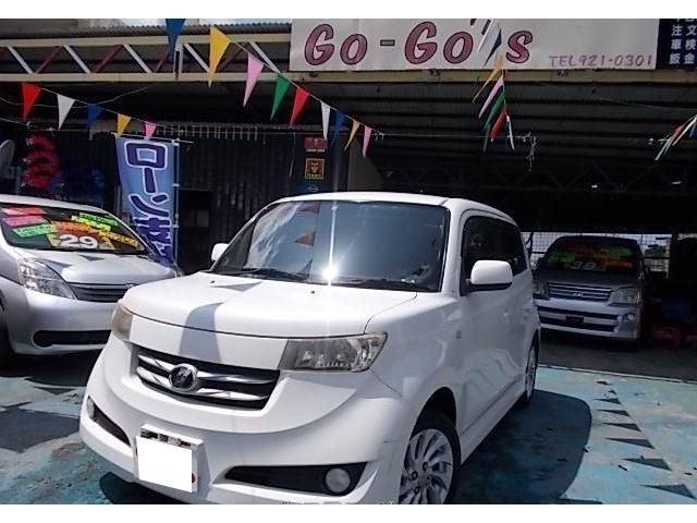 沖縄の中古車 トヨタ bB 車両価格 29万円 リ済別 2006(平成18)年 13.0万km ホワイト