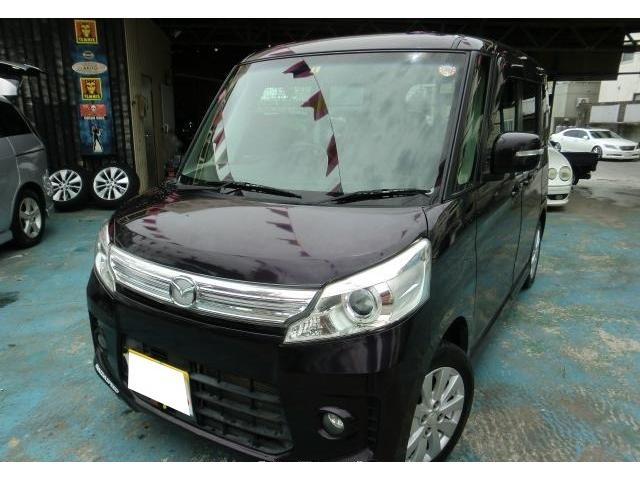 沖縄県沖縄市の中古車ならフレアワゴンカスタムスタイル XS
