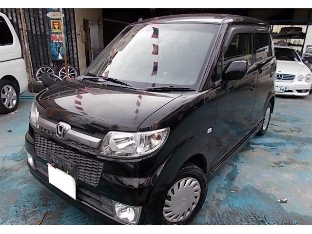沖縄の中古車 ホンダ ゼスト 車両価格 29万円 リ済別 2008(平成20)年 13.0万km ナイトホークブラックパール