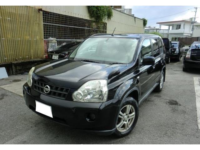 沖縄の中古車 日産 エクストレイル 車両価格 55万円 リ済別 2009(平成21)年 14.0万km ダイヤモンドブラックP