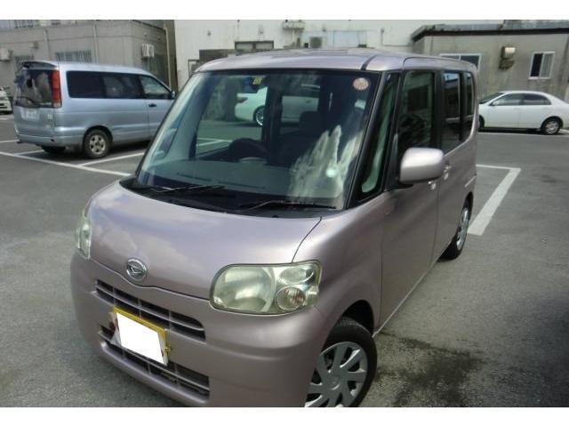 沖縄の中古車 ダイハツ タント 車両価格 35万円 リ済別 2010(平成22)年 7.7万km ピンクM