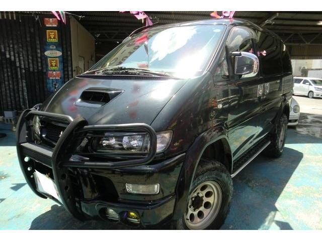沖縄県の中古車ならデリカスペースギア エクシード ディーゼルターボ Bluetooth