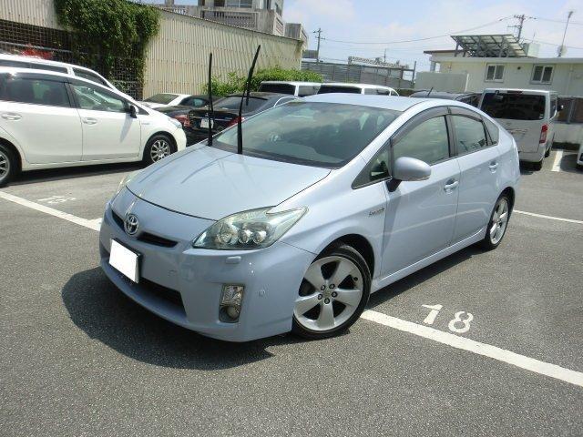 沖縄の中古車 トヨタ プリウス 車両価格 55万円 リ済別 2009(平成21)年 11.7万km ライトパープル