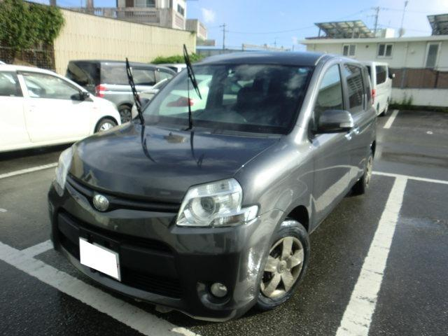 沖縄の中古車 トヨタ シエンタ 車両価格 35万円 リ済別 2011(平成23)年 14.3万km グレー