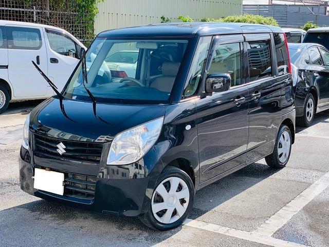 沖縄の中古車 スズキ パレット 車両価格 39万円 リ済別 2012(平成24)年 10.2万km ブラック