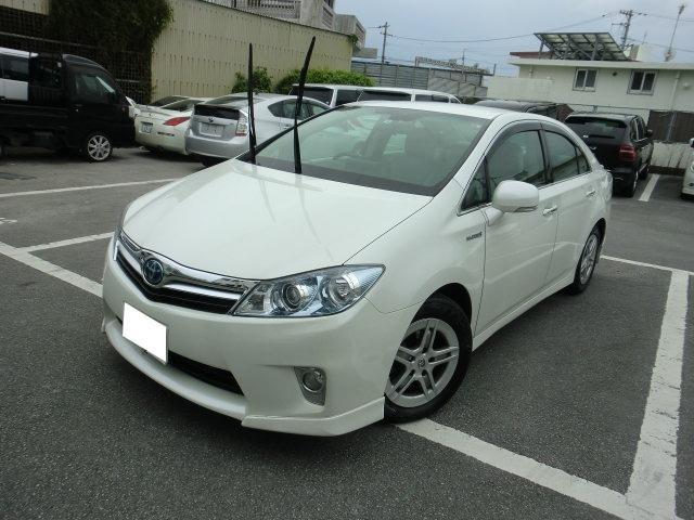 沖縄の中古車 トヨタ SAI 車両価格 75万円 リ済別 2010(平成22)年 9.1万km パールホワイト