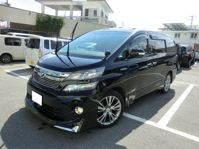 沖縄県の中古車ならヴェルファイアハイブリッド ZR Gエディション