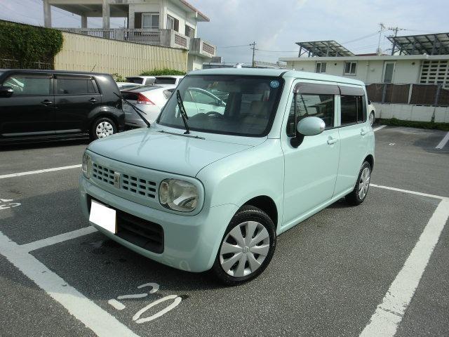 沖縄の中古車 スズキ アルトラパン 車両価格 29万円 リ済別 2009(平成21)年 14.0万km Lグリーン