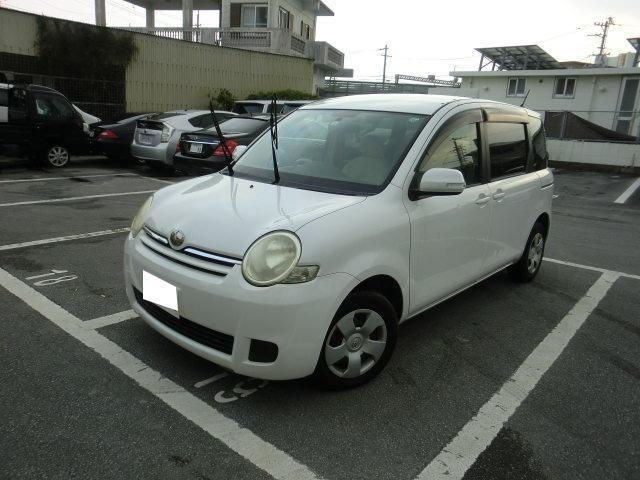 沖縄の中古車 トヨタ シエンタ 車両価格 29万円 リ済別 2010(平成22)年 3.5万km パールホワイト